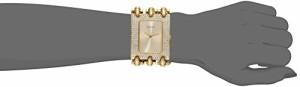 【当店1年保証】ゲスGUESS Women's U0085L1 Rocker Glitz Multi-Chain Gold-Tone Bracelet Watch