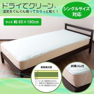 オーシン 日本製 除湿シート ドライでクリーン シングルサイズ対応 約95×190cm