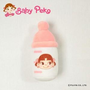 ベビーおもちゃ BabyPeko ベビーペコちゃん ミルク哺乳瓶がらがら B