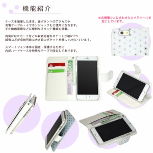 【メール便送料無料】 Galaxy Note8 SC-01K スマホケース 手帳型 オーダー 水玉柄 フェルト 生地 バブル 布地