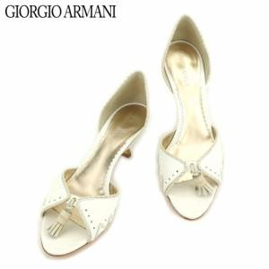 cb58a3d0e7f6 ジョルジオ アルマーニ GIORGIO ARMANI サンダル シューズ 靴 メンズ可 クロコダイル型押し 【中古】 E1320