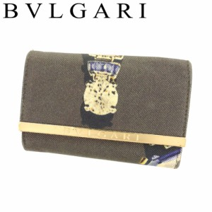 f713bef3af07 ブルガリ BVLGARI キーケース 6連キーケース レディース ジュエルプリント 【中古】 F1387