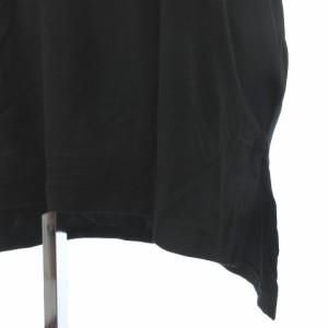 ポロ ラルフローレン POLO RALPH LAUREN 半袖 カットソー 胸ポケット 黒 ブラック XS レディース ベクトル【中古】