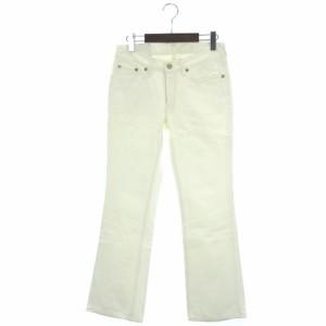 リーバイス Levi's デニム パンツ ストレートカラー W526 ホワイト 白 30 レディース ベクトル【中古】
