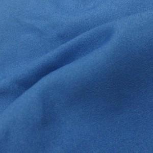 KOE コエ ショートパンツ イージー  フレア  ハーフ タック 無地 ブルー M 170719 レディース ベクトル【中古】