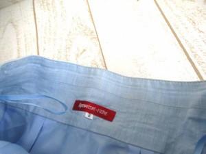 アプワイザーリッシェ Apuweiser-riche スカート 膝丈 ラメ混 2 青 KKB 【中古】 ベクトル【中古】