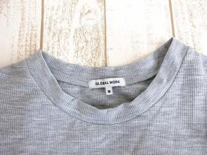 グローバルワーク GLOBAL WORK Tシャツ カットソー 半袖 グレー M 0720 KKB 【中古】 ベクトル【中古】