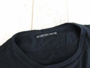 ディエチ コルソ コモ 10 corso como Tシャツ カットソー 半袖 プリント 黒 L 1222 ☆AA★ レディース