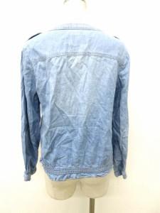 オリーブデオリーブ OLIVE des OLIVE ジャケット ブルゾン ジップアップ 水色 0225 レディース