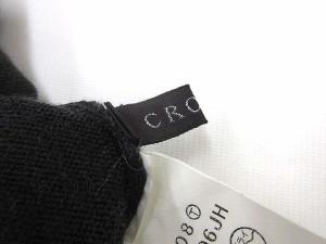クローラ crolla ニット 七分袖 カットソー ウール 黒 0831 LEK レディース ベクトル【中古】
