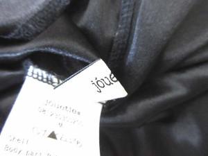 ジュエティ jouetie ワンピース 膝丈 半袖 チュール フレア M 白 黒 1017 レディース