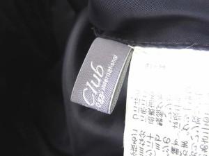 オッジクラブ oggiclub ダウンジャケット 中綿 チャイニーズラクーン 40 Lサイズ 紫 1109 レディース ベクトル【中古】