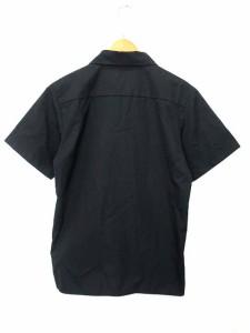 エクストララージ X-LARGE シャツ 半袖 ロゴプリント 黒 S ◎ 1127 メンズ ベクトル【中古】