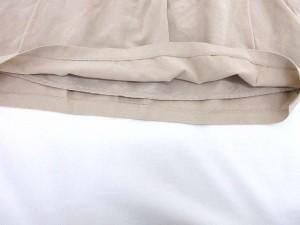 クローラ crolla ミニスカート  パイピング バルーンポケット ベージュ size 38 0406 レディース ベクトル【中古】