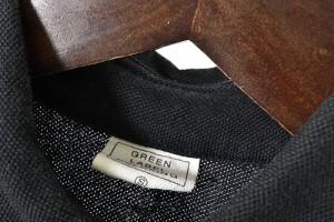 グリーンレーベルリラクシング ユナイテッドアローズ green label relaxing ポロシャツ 半袖 鹿の子 ワンポイント 黒 S 170213 メンズ