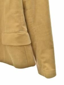 セオリー theory ジャケット テーラード 長袖 1ボタン 無地 ベージュ 2 170901c レディース