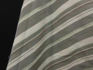 ASCOT 東京スタイル 斜めストライプ フリル ひざ丈 スカート グレー系 11 レディース ベクトル【中古】