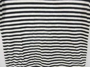 バンブーグラス BAMBOO GRASS カットソー 半袖 Tシャツ ボーダー 白 黒 M レディース ベクトル【中古】