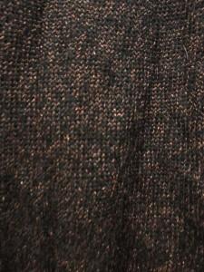 グランターブル GRAND TABLE ニット セーター カットソー 半袖 黒 茶 ウール混 レディース ベクトル【中古】