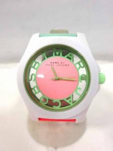 マークバイマークジェイコブス MARC by MARC JACOBS MBM4020 腕時計 クオーツ 白 マルチカラー レディース ベクトル【中古】