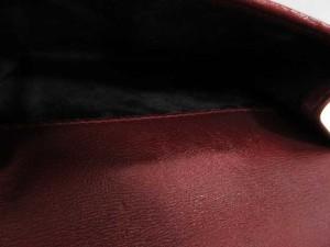 グッチ GUCCI 二つ折り財布 ハートホック GGキャンバス 赤 レディース