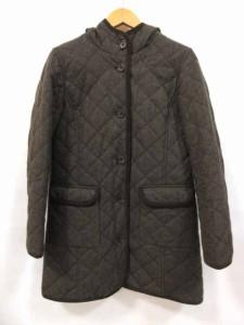無印良品 良品計画 ジャケット コート ロング 茶 ウール M レディース ベクトル【中古】