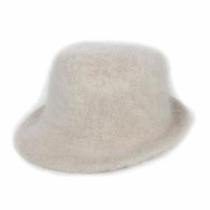 ed9b84501e56 クーコ COOCO 中折れ帽 帽子 ハット シャギー ベビーピンク/2 レディース