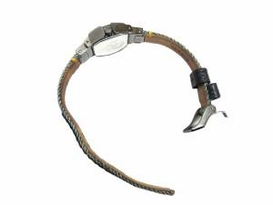 ディーゼル DIESEL Z BACK UP クオーツ 3針 腕時計 デニムベルト スタッズ ポリゴン オクタゴン 5気圧防水性能 DZ5444 ☆★ レディース