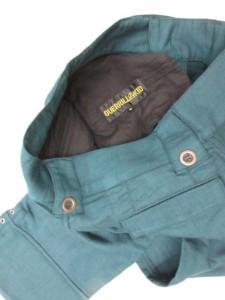 未使用品 GUERRILLAKID ゲリラキッド モンキーパンツ クロップドパンツ トラウザーズ ボタンフライ 44 深緑 GKA-P01 メンズ