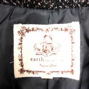 アースミュージック&エコロジー EARTH MUSIC & ECOLOGY コート  黒系 S ※MK 180216 レディース ベクトル【中古】