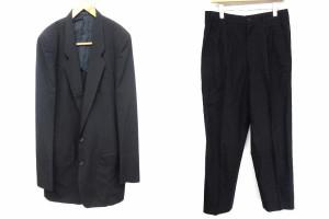 コムデギャルソンオム COMME des GARCONS HOMME スーツ フォーマル セットアップ ウール 紺 L ※AI 180517 メンズ ベクトル【中古】