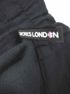 ヒロココシノ HIROKO KOSHINO HK WORKS LONDON イージー パンツ トラウザーズ ネイビー LL ※AI 180505 レディース ベクトル【中古】
