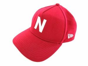 ニューエラ NEW ERA キャップ 帽子 野球帽 ハット Nロゴ ウール レッド ※MH181122 メンズ ベクトル 3aed68514540