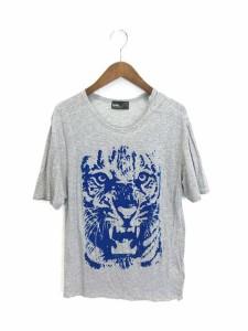 カラー kolor Tシャツ 半袖 フロッキープリント 1 グレー 170831 メンズ