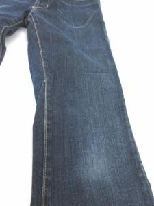ローガン LOGAN デニム パンツ ジーンズ スリム ストレート USA製 26 インディゴブルー 180611R レディース ベクトル【中古】