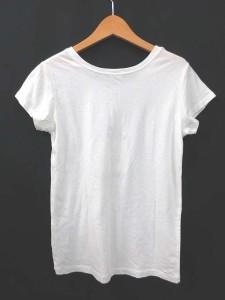 グラスウォーター GRASS WATER Tシャツ カットソー スパンコール 装飾 半袖 38 白 ホワイト 180609R レディース ベクトル【中古】