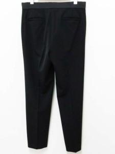 セオリーリュクス theory luxe パンツ スラックス ベルト 40 黒 ブラック レディース