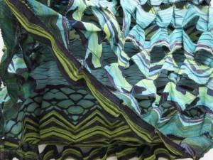 ダイアンフォンファステンバーグ DIANE von FURSTENBERG スカート ミニ 総柄 レイヤード シルク 4 黒 青 緑 レディース ベクトル【中古】
