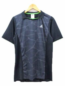 Sporting Goods Blue Adidas Kanoi Graphic Short Sleeve Mens Running Top