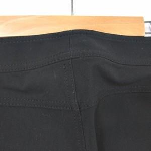 アンタイトル UNTITLED スラックス パンツ ストレッチ ストレート ブラック 黒 1 Y-18021921 レディース ベクトル【中古】