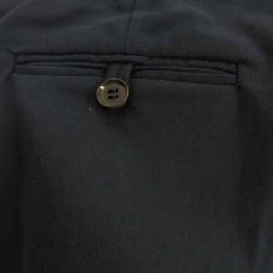 セオリー theory パンツ スラックス ロング ストレッチ 黒 ブラック 0 S-17112613 TH レディース ベクトル【中古】