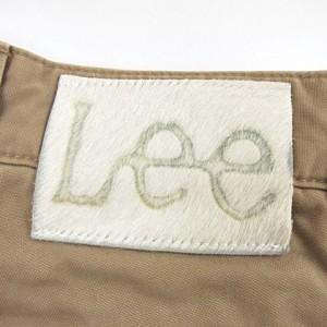 リー LEE カーゴ パンツ ベージュ ブラウン 茶 34 Y-18021922 メンズ ベクトル【中古】