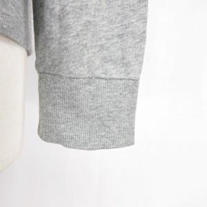 ルラシェ Relacher パーカー 長袖 フード ロゴ 刺繍 グレー フリーサイズ F アウター GP Y-180309 レディース ベクトル【中古】