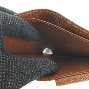 未使用品 ルイヴィトン LOUIS VUITTON モノグラム ポルトフォイユ マルコ 二つ折り 財布 ウォレット M61675 茶系 ベクトル【中古】