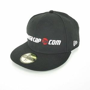 ニューエラ NEW ERA キャップ 刺繍 ロゴ 野球帽 帽子 黒 ブラック 7 3 4 61.5 210ed294ae52