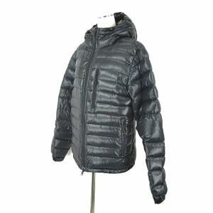 2f5c253ef3ca1 ギャップ GAP ダウン ジャケット ナイロン フード 黒 ブラック S アウター O-190224 メンズ