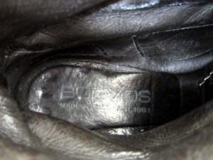 ボエモス BOEMOS ショートブーツ ウエスタン スエード レザー ブラウン 茶系 36 23.0 170817MM レディース