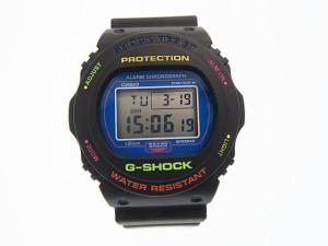 newest 9b30a 1023a カシオジーショック CASIO G-SHOCK × BEAMS ビームス別注 DW-5750BE デジタル腕時計 マルチカラー 中古190319  0120 au Wowma!(ワウマ)
