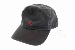 be178f165f1d5 【中古】ロンハーマン Ron Herman RH 刺繍ロゴ ウォッシュ加工キャップ 帽子 黒ブラック