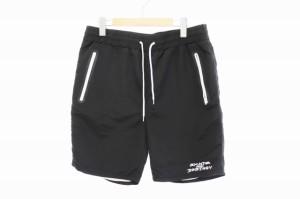 【中古】スラッシャー THRASHER ショート パンツ XL 黒 ブラック ブランド古着ベクトル 中古● 210511 0007